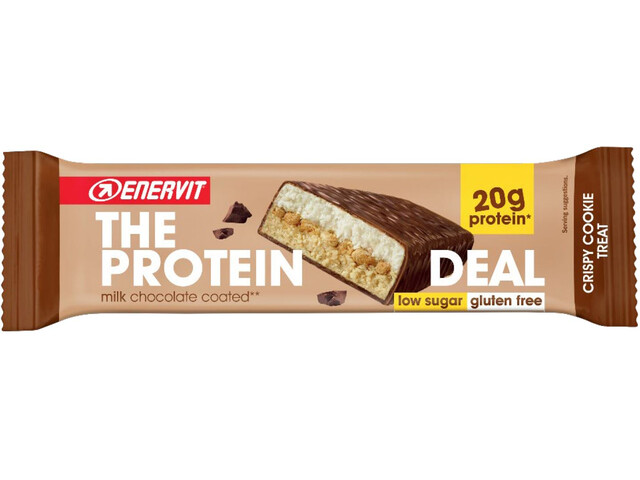 Enervit Protein Deal Bar Box 25x55g, Cookie